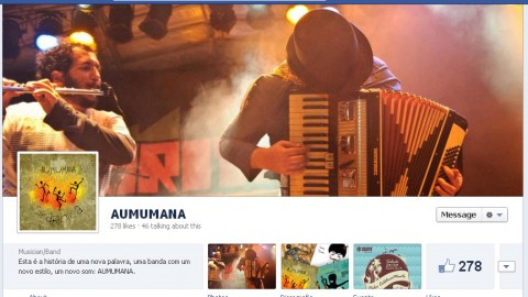 Facebook Timeline para páginas de artistas