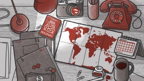 Explore as possibilidades de tocar pelo mundo