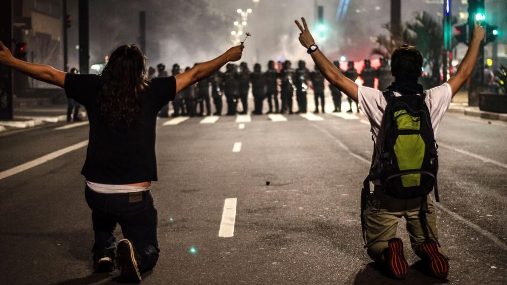 A música independente e as manifestações