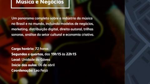Curso: Música e Negócios da PUC-RJ
